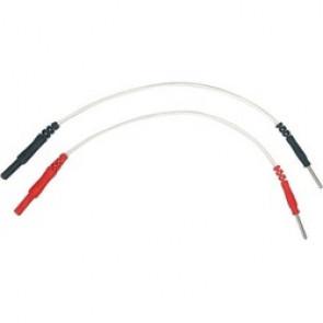 Adaptateurs câbles pour électrostimulation