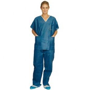 Pyjama Profil Tunique Bleu