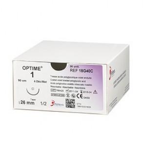 Fils de sutures Optime - Aiguille Extrablack - Peters Surgical