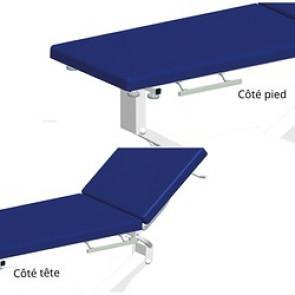 Rails coté pied ou tête pour les divans Promotal