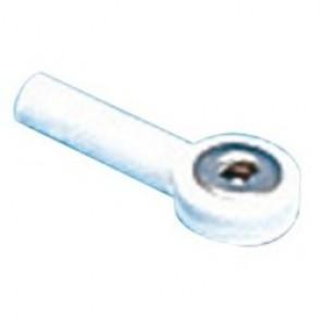 Raccord adaptateur 4 mm blanc ou vert pour pinces membres adulte pour ECG
